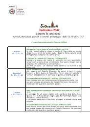 settembre 07 - Castello Sforzesco