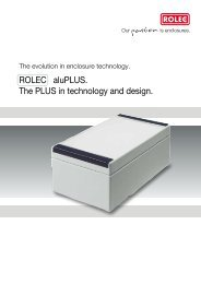 aluPLUS Brochure - complete - ROLEC Gehäuse-Systeme GmbH