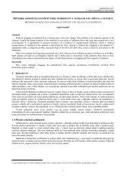 1.1 Původ a složení sedimentů - Fakulta stavební