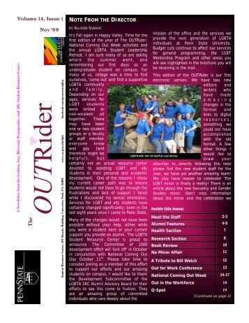 Volume 14-1 - Student Affairs - Penn State University