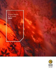 Download the 2002 Annual report here - Focus Ireland