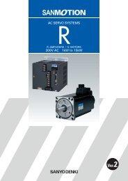 200V AC 1kW to 15kW AC SERVO SYSTEMS