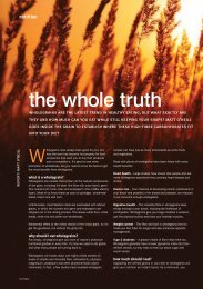 The truth about wholegrains - Fitness Professionals