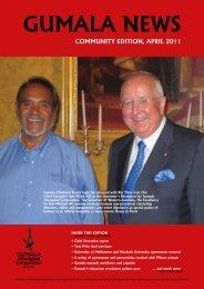 Gumala News - April 2011 Community Edition - Gumala Aboriginal ...