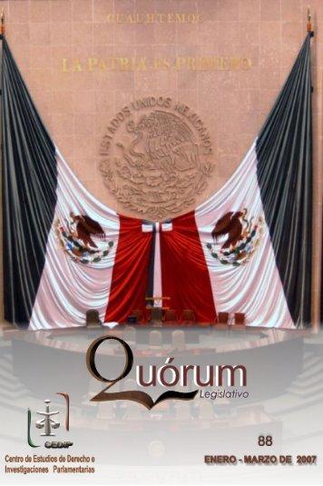QUÓRUM Legislativo 88 - Cámara de Diputados