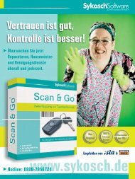 Sykosch Software AG - Scan & Go Mobile ... - von Sykosch