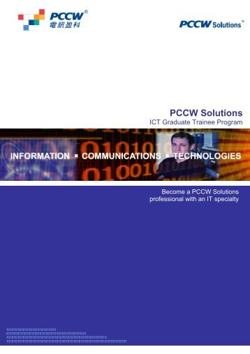 PCCW Solutions Information and Communications Technologies (ICT)