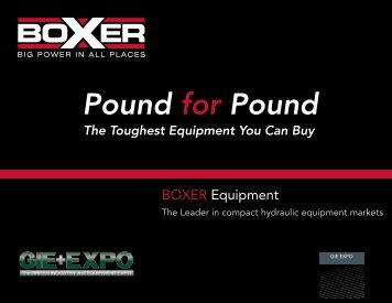 Boxer Presentation - Boxer Power and Equipment