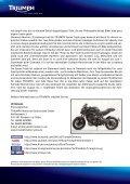 Die Presseerklärung zum Glemseck 101 Motorrad von Triumph ... - Page 2