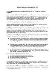 Erklärung-GBR-IGM - Schaeffler-Nachrichten der IG Metall: Startseite