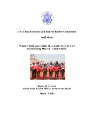 China's First Deployment of Combat Forces to a - U.S.-China ...