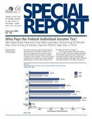 Special Report No. 109 - Tax Foundation