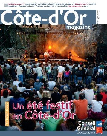 Télécharger Côte-d'Or magazine N°123 - juillet 2012 en PDF