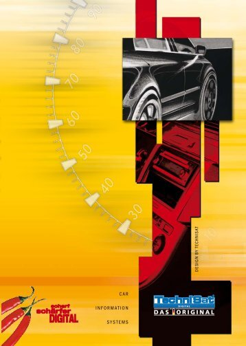 CAR INFORMATION SYSTEMS - TechniSat Car Communications