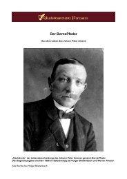 Der BornsPfeder - Geschichtswerkstatt Partenstein