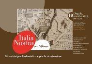 L'Aquila, - Italia Nostra