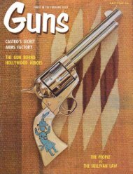 GUNS Magazine July 1960