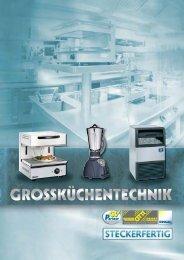 Großküchentechnik - steckerfertig PDF 8,47 MB - GV-Partner