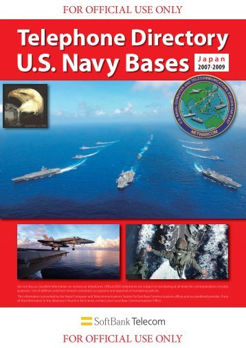 TELEPHONE DIRECTORY - The US Navy