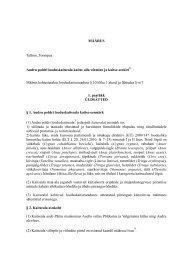 Audru poldri looduskaitseala määruse eelnõu - Keskkonnaamet