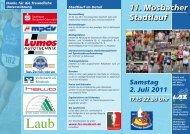 11. Mosbacher Stadtlauf