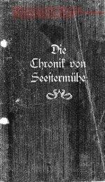Die Chronik von Seestermühe - Alt Bramstedt
