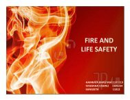 FIRE AND LIFE SAFETY - Shilpa Architects
