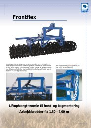 Download PDF Fronflex brochure - Dal-Bo A/S