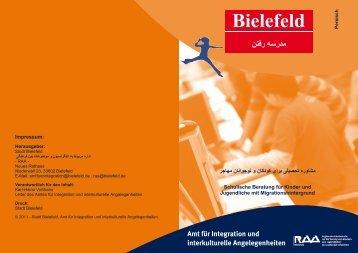 Amt für Integration und interkulturelle ... - RAA Bielefeld