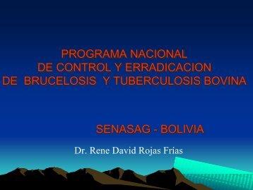 programa nacional de control y erradicacion de brucelosis y ...