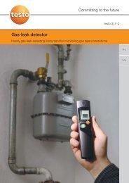 Gas-leak detector - Nordtec Instrument AB