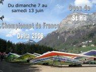CHAMPIONNAT de France DELTA 2009