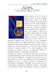 Ilya Prigogine Le leggi del caos - scienzaefilosofia.it