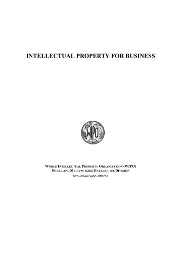 intellectual property for business - WIPO
