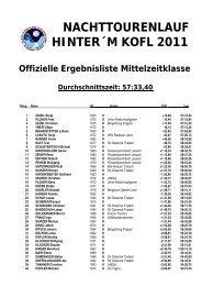 Ergebnisliste-Mittelwertung-2011 - Nachttourenlauf