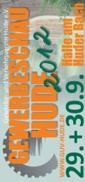 Huder Gewerbeschau 2012 - Gewerbe und Verkehrsverein Hude
