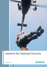 Answers for National Security - Siemens PLM Software