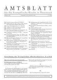 November 2006 - Das Evangelische Zentrum