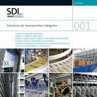 Solutions de manutention intégrées - SDI Group