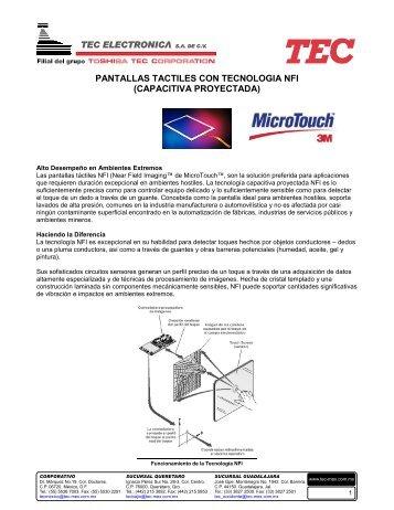 Ficha técnica de NFI - Tec