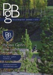 PBG:n jäsenlehti 1 / 2010