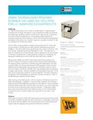 zebra technologies provides durable uid labeling solution for jc ...