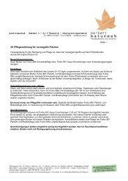 38 |Pflegeanleitung für versiegelte Flächen - Parkett Naturnah