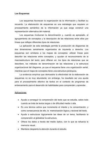 Los Esquemas - Página principal