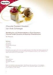 Rezept für Chocolat Fondant Kreation (PDF)