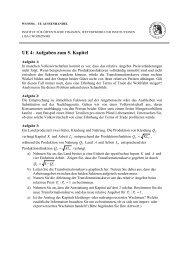UE 4: Aufgaben zum 5. Kapitel