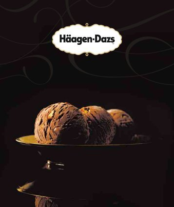 Menükarte als PDF downloaden - Häagen-Dazs