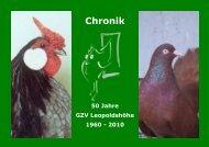 Chronik 50 Jahre GZV Leopoldshöhe 1960 - 2010