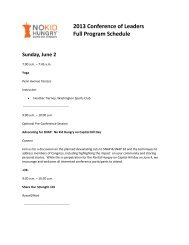 Download Full Program Schedule PDF - Share Our Strength