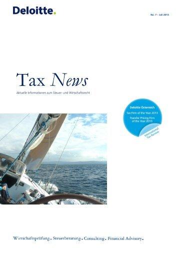 Deloitte Tax News